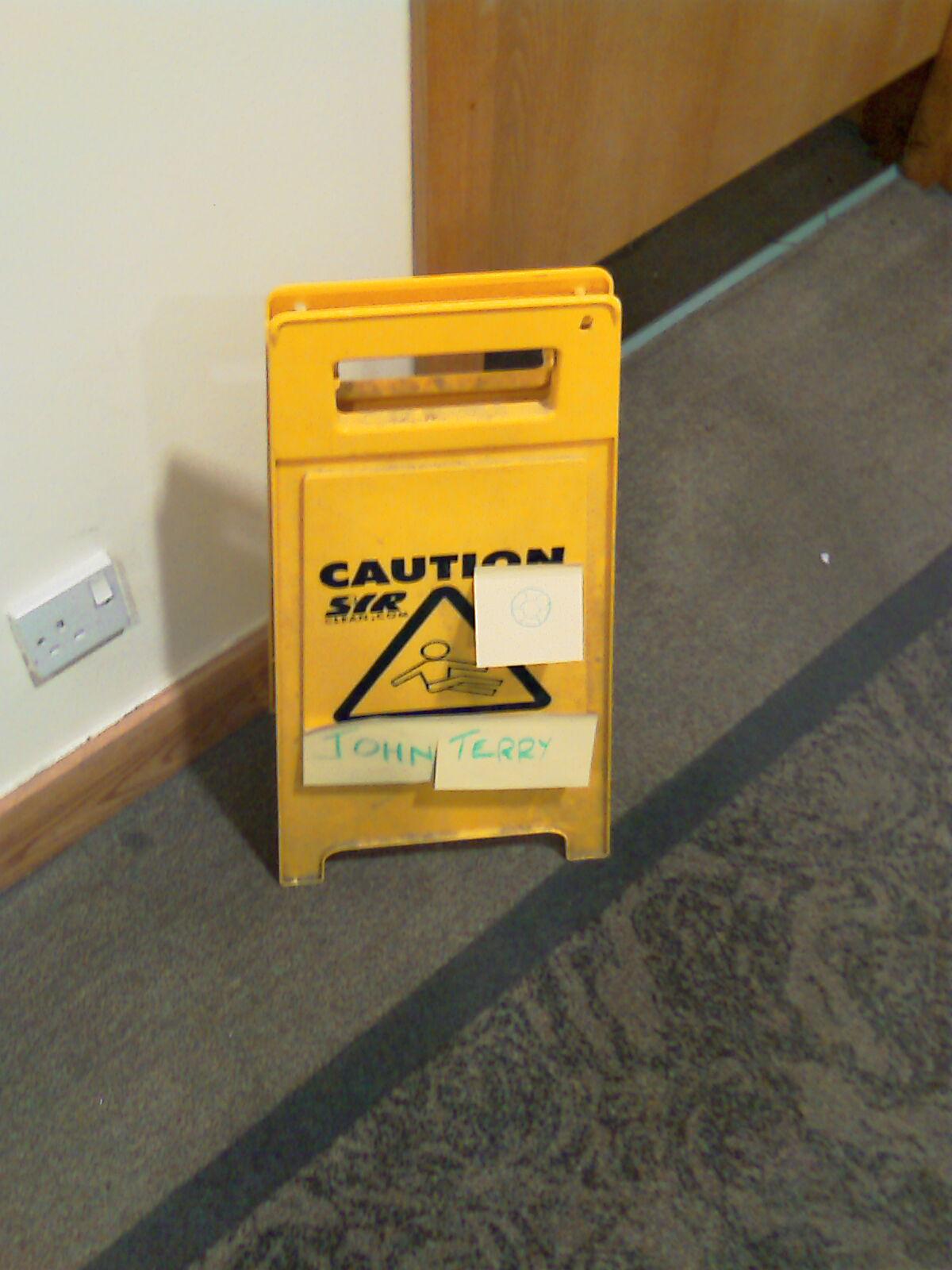 Caution - John Terry