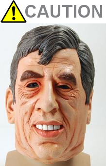 Scary Gordon Brown - Caution