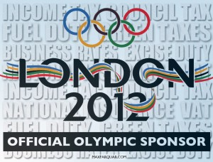 Official Olympic Sponsor London 2012