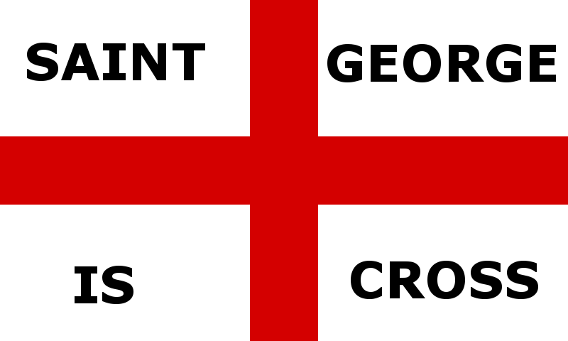 St George is Cross