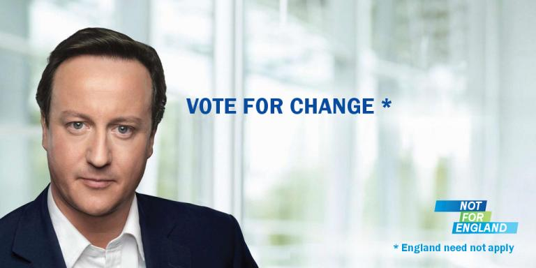 Vote For Change - England Need Not Apply
