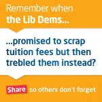 Labour Tuition Fees Hypocrisy