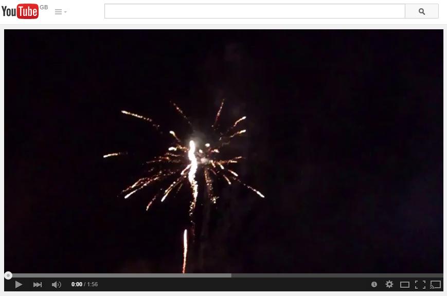 Firework Video