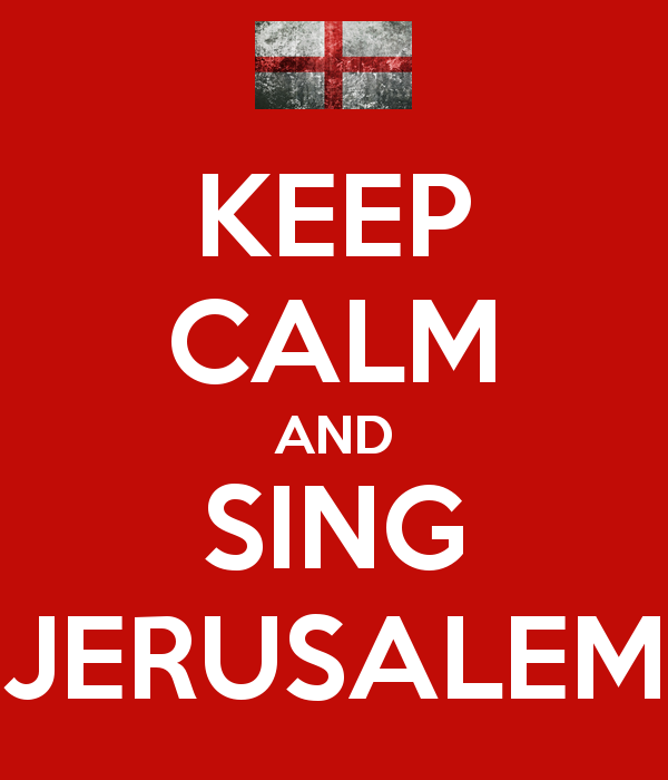Keep Calm and Sing Jerusalem