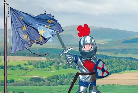 George Slaying the EU